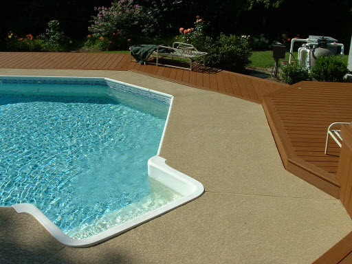 concrete resurfacing for your pool deck - sundek concrete coatings
