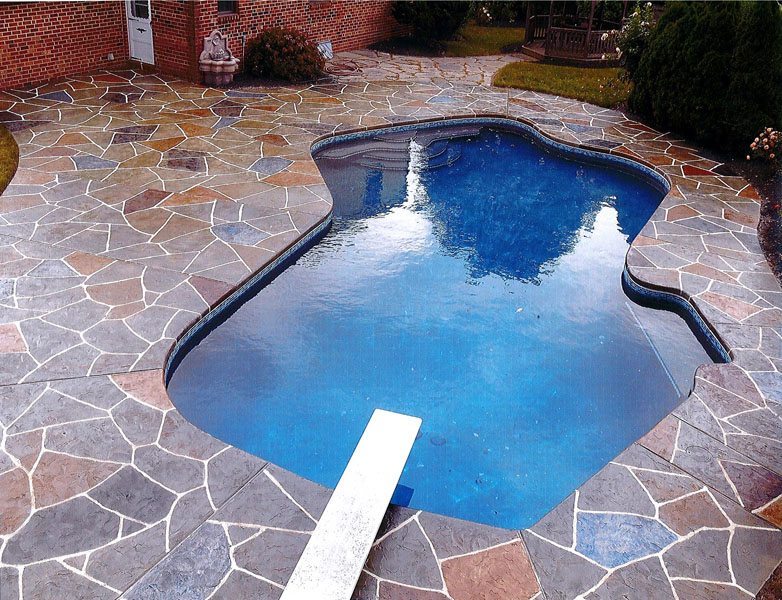 pool deck resurfacing - sundek concrete coatings and concrete