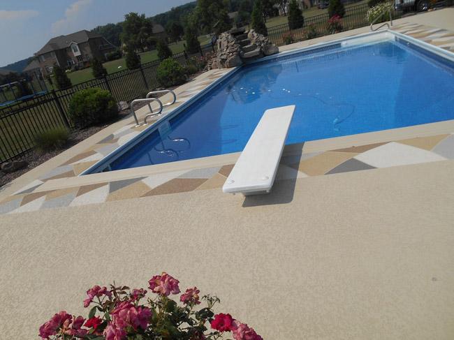 Pool Coatings For Waterproofing : Pool deck resurfacing sundek of washington years