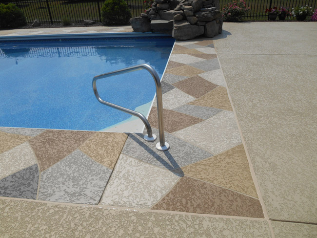 Pool Deck Resurfacing Entrancing Pool Deck Resurfacing  Sundek Concrete Coatings And Concrete