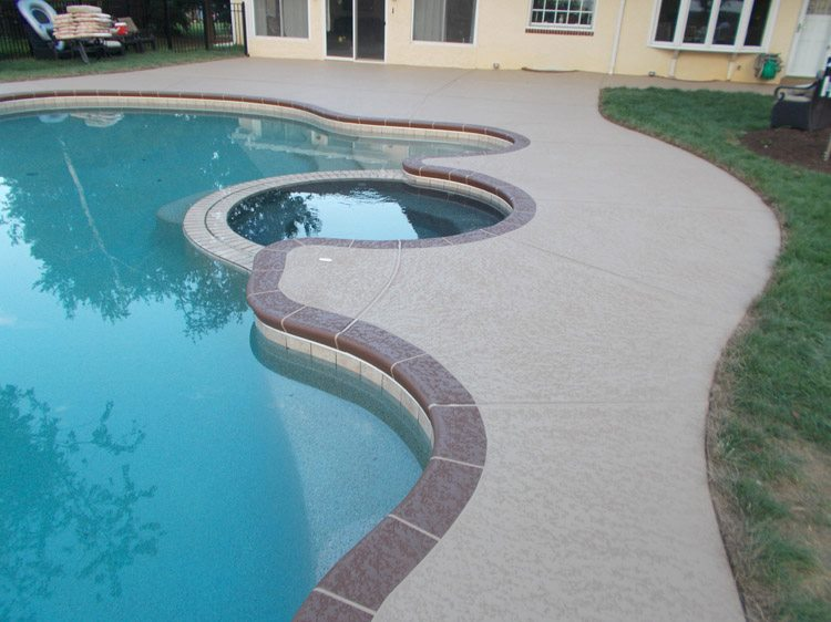Concrete Pool Decks Photo Gallery Amusing Pool Deck Resurfacing  Sundek Concrete Coatings And Concrete