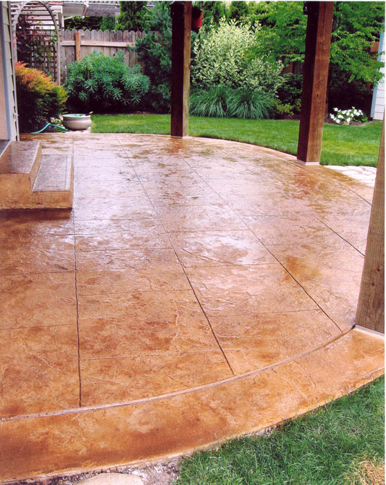 The Benefits Of Slip Resistant Stamped Concrete Sundek Of Washington