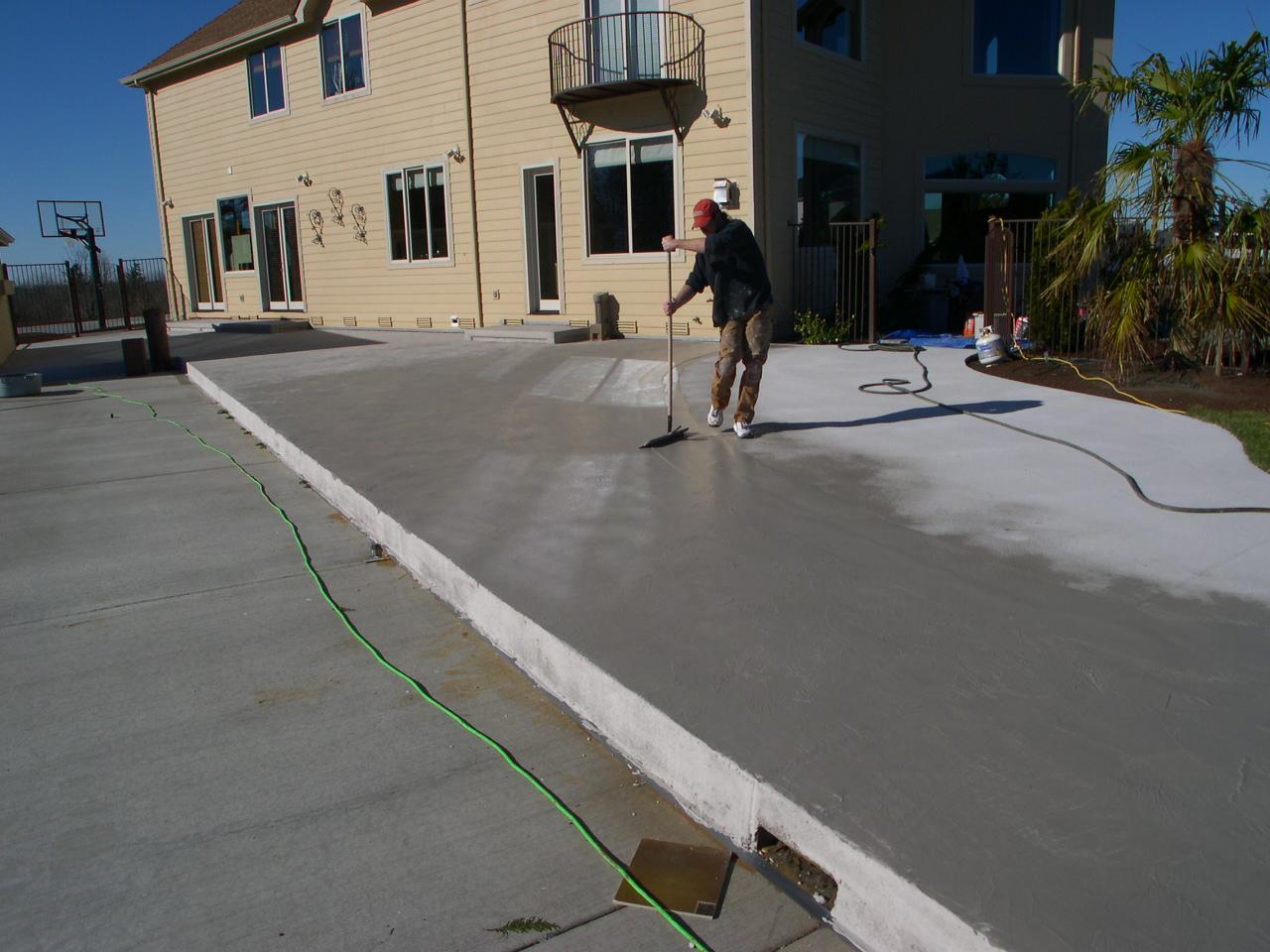 How To Fix Damaged And Spalled Concrete Sundek Of Washington