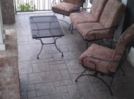 Concrete patio restored with Sundek Coatings
