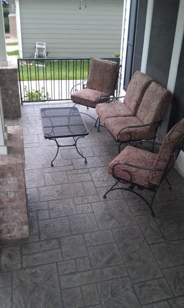 Concrete patio restored with Sundek Coatings