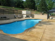 Concrete Pool Deck by Sundek of Washington