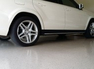 Epoxy garage floor system
