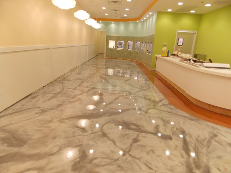 Epoxy Coatings in a Food Store