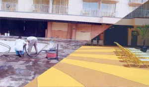 Concrete Resurfacing Restoration Project - Before & After