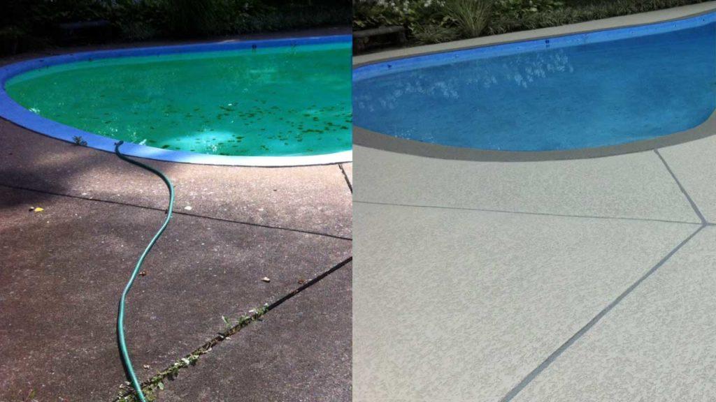 Pool Deck Repair in Maryland