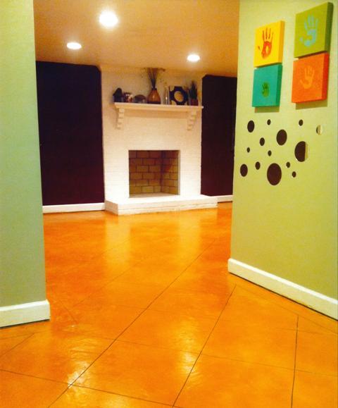 Basement Concrete Floor