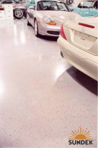 ColorFlake Epoxy Floor Retail Stores