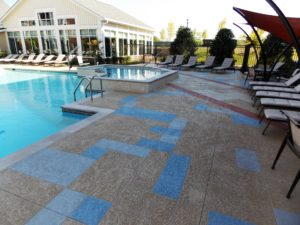 Brilliant Pool Deck Creations with Sundek Products