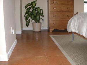 Sundek Master Bedroom Concrete Floor