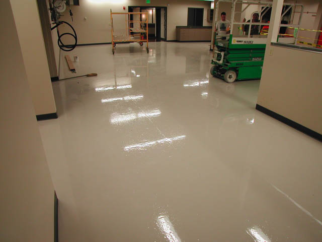 Epoxy Coatings used in Industrial facility