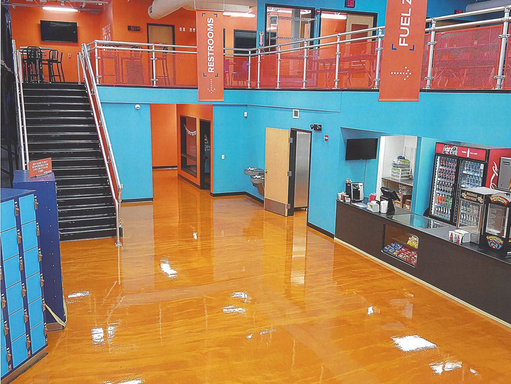 Sun Metal Metallic Epoxy Floors