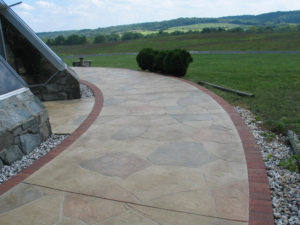 Concrete Patio with Sundek System