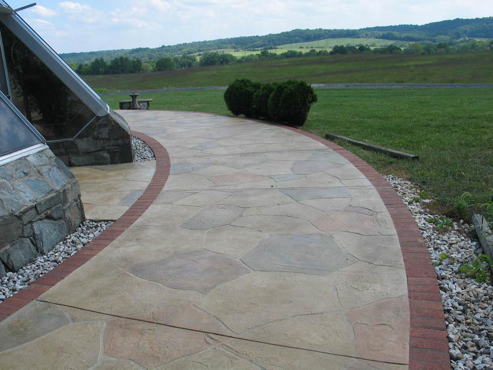 Concrete Patio with Sundek System