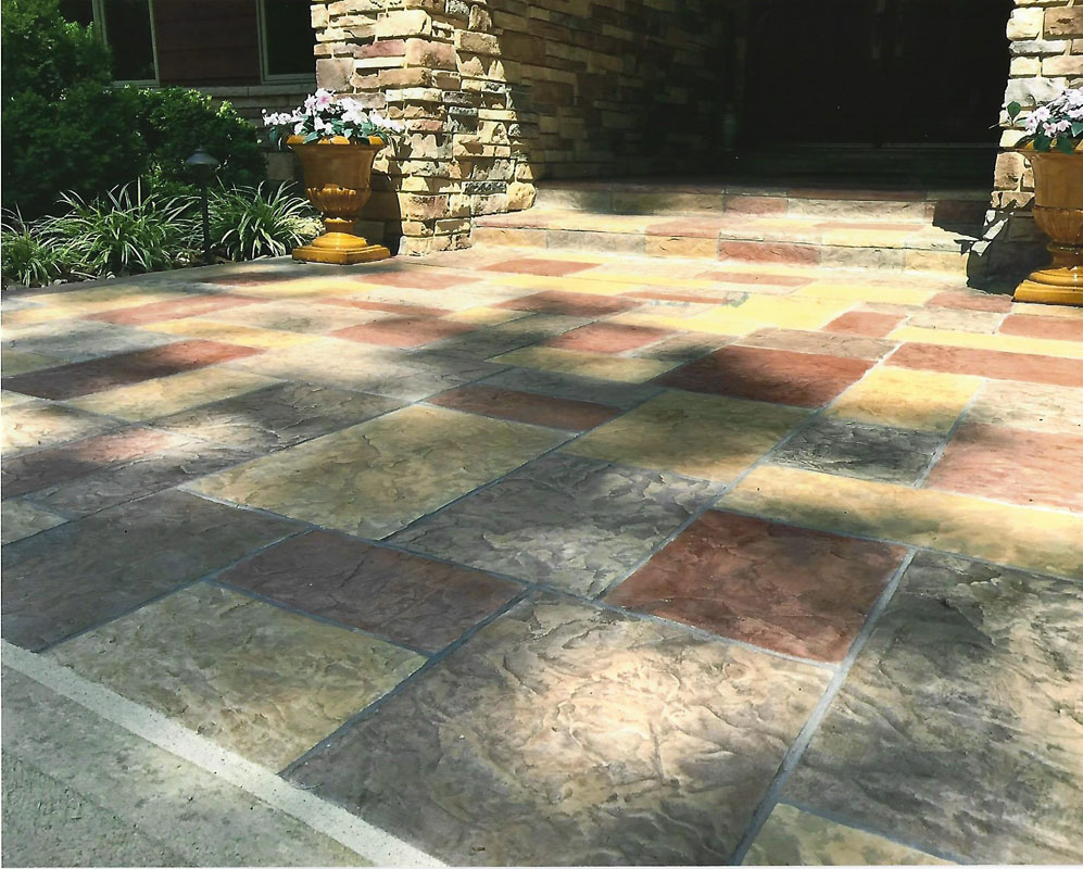 SunStamp Stamped Concrete Floors