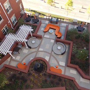 Patio at Dunn Loring Metro in Lunn Loring, VA