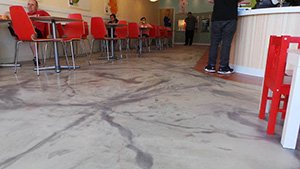 Metallic epoxy floor fairfax