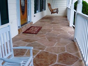concrete porch resurfacing